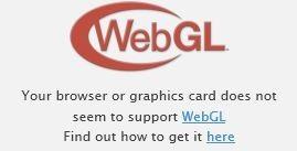 Webgl未サポートブラウザ時表示